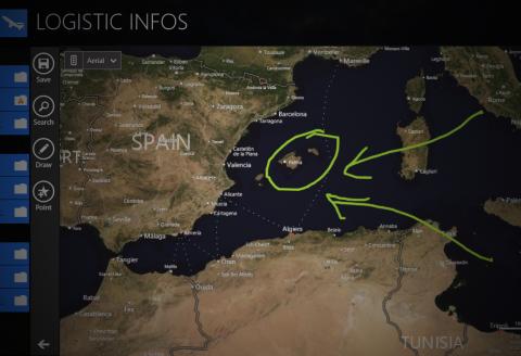 Aviator Slate Geo localization info prodotti