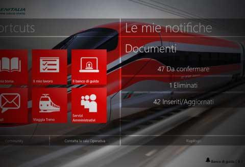 applicazione viaggi Train Operation Management TrenItalia Prodotti