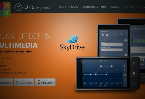 DPS Daily Notes Autism APP SkyDrive Prodotti