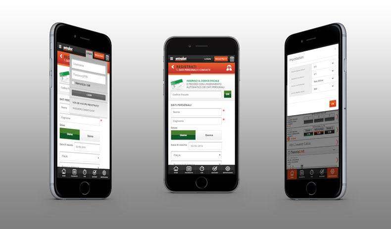 Intralot mobile app