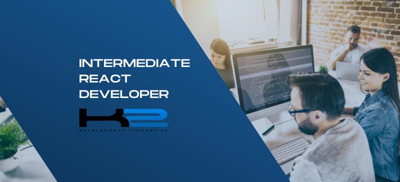 Intermediate React Developer